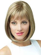 NEW1071   fancy new popular style short dark blonde mix hair wigs for women wig