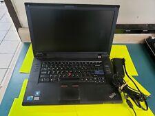 **- LENOVO THINKPAD SL510 WINDOWS 10 INTEL CORE 2 DUO-2.20GHZ 4GB RAM 250GB HDD