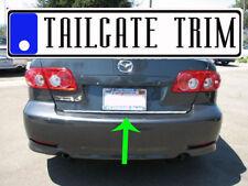 Mazda 6 Mazda6 03 04 05 06 07 08 09-12 13-18 Chrome Tailgate Trunk Trim Molding