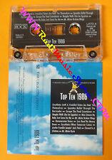 MC TOP TEN 1986 compilation SPANDAU BALLET NINA SIMONE LOU REED no cd lp dvd