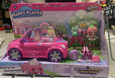 Shopkins Happy Places Bearry Fun Convertible Pippa Melon & Picnic Petkins