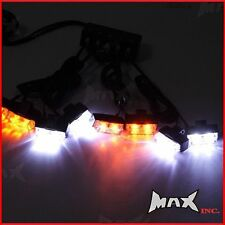 Flashing Caution LED Hi Vis Grill Automotive Amber / White Safety Warning Light
