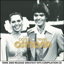 Donny & Marie Osmond - The Very Best Greatest Hits Collection CD - 70's Pop