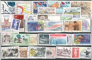 R2600 - FRANCIA 1994 - ANNATA QUASI COMPLETA 32 TEMATICI DIFFERENTI - VEDI FOTO