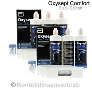 Oxysept Comfort Black Edition Premium Pack  3x300ml   6x300ml MHD 09/2022