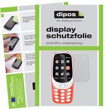 2x Nokia 3310 Film de protection d'écran protecteur antireflet dipos