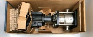 GRUNDFOS CRN10-02 B-P-G-E-HQQE MULTISTAGE CENTRIFUGAL PUMP 1.50 kW 50 Hz NEW