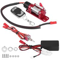 1/10 Scale RC Model Vehicle Crawler Car Accessory Metal Winch Remote Controller