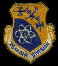 USAF 26th Air Division Patch S-11