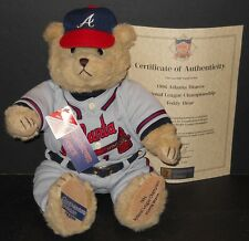 COOPERSTOWN 1996 ATLANTA BRAVES NATL LEAGUE CHAMPS BEAR