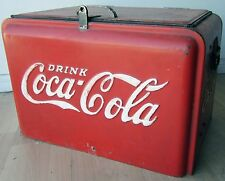 Coca-Cola Westinghouse Junior Cooler circa 1950's