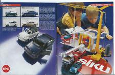 Siku  catalogue 1994 / 95.