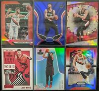 Lot of (6) Jusuf Nurkic, Including Prizm red /299, Mirror blue & other parallels