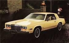 Old Print. Yellow  1980 Cadillac Eldorado Auto Ad