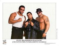 WWE SIGNED PHOTO NUNZIO WRESTLING WWF PROMO P831 ECW FULL BLOODED ITALIANS FBI
