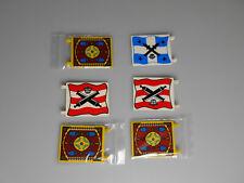 Lego® Piraten,Orient und Ritter 6x bedruckte große Fahne/Flagge