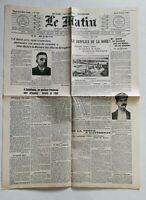 N917 La Une Du Journal Le Matin 13 août 1907 le supplice de la boue
