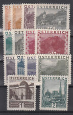 Österreich ANK Nr. 498-511, **, Luxus