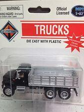 HO 1/87 Boley # 4006-36 IH Navistar Tandem Axle Truck w/Stake Bed - Black