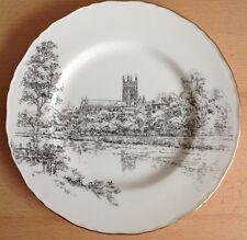 "Royal Worcester WORCESTER CATHEDERAL DINNER PLATE 10.75"" 27cm  Bone China"