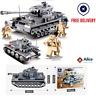 1193pcs Military Tank Model Building Blocks set with Soldier Figures Toys Bricks