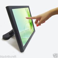 "NEW 15"" POS LCD Touch monitor ED150 VGA DVI 5 Wire screen Kiosk Restaurant"