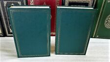 LOT OF TWO PROGRAMMED CLASSICS WAR AND PEACE  AND CRIME AND PUNISHMENT HC VG+