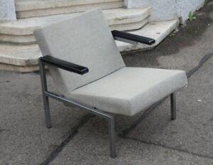 Design Armchair Martin Visser (1922-2009) SZ63 Spectrum Grey Padded