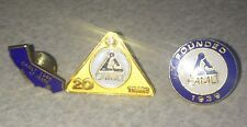 CAMLT ~ California Association For Medical Laboratory Technology Lapel Tie Pins