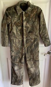 Youth LIBERTY RealTree Camo Coveralls Size 10 Reg  Made in USA