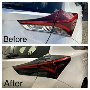 For Toyota Corolla Hatch Taillight - Black Out Tint & Vinyl Wrap Die Cut Kit