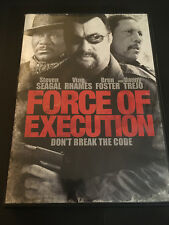 FORCE OF EXECUTION  ( DVD ) STEVEN SEAGAL  VING RHAMES