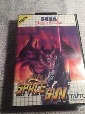 Space Gun Sega Master System Game