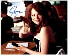 Emma Stone Signed 8x10 Picture autographed Photo + COA