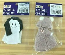 Azone Pure Neemo Ruruko clothes outfit LOT cape shirt Blythe Obitsu 1/6 figure