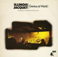 "Illinois Jacquet – Genius At Work! Vinyl 12"" LP BLP 30118 1971"