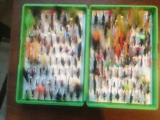 Fox flybox full of trout & grayling flies