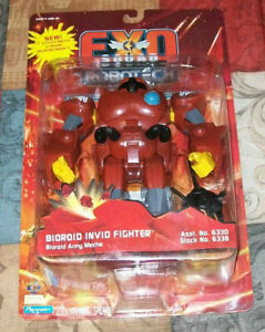 Exo Squad Robotech BIOROID INVID FIGHTER 1994 Sealed NEW MOC HTF