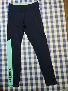 - under armour Sport Fitness Navy Leggings Size 10