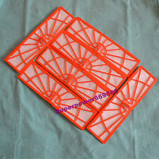 6pc replacement red Filter for Neato BotVac Series 70e D75 D85 80 compatible