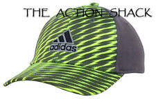J5 - Adidas Sport Closer II Hat / Cap * NWT Flexfit Large / XL Gry / Lime #27726