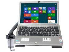 Halterung mit Adapterplatte am Tisch für Tablet PC Laptop Notebook Spielkonsole