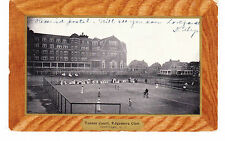Rockaway Queens Edgemere Club Tennis Courts, Imitation Wooden Border, Li, Nyc