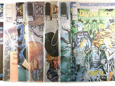 Jim Lee divine right 1,2,3,4,5,6,7 + preview complètement buchh. - variante NEUF