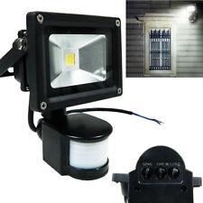 10W PIR LED Flood light White White Motion Sensor Floodlight Garden