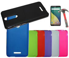 Funda para WIKO VIEW 5.7'' + Protector de Cristal Gel Lisa colores