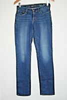 Levi Strauss Woman's Bold Curve Modern Rise Straight Blue Trousers W26 L32