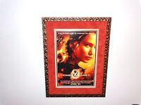 Jennifer Lawrence Museum Framed Signed Hunger Games Poster Katniss Everdeen COA