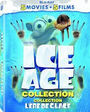 Ice Age: 5 Movie Collection [Blu-ray Box Set, CGI Animated, Scrat, Children] NEW