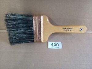 "Vintage NOS 4"" pure bristles paint brush C BREWER & SONS LTD  COLLECTABLE new"